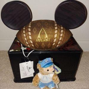 Aulani Mickey Ear Hawaii & Mickey Duffy Bear 2pc